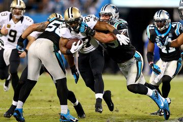 Edwin Baker New Orleans Saints v Carolina Panthers