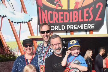 Edwin Catmull World Premiere Of Disney-Pixar's 'Incredibles 2'