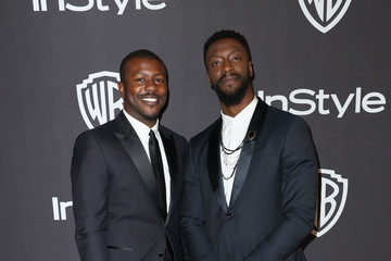 Edwin Hodge InStyle And Warner Bros. Golden Globes After Party 2019 - Arrivals