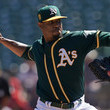 Edwin Jackson Los Angeles Angels of Anaheim  v Oakland Athletics