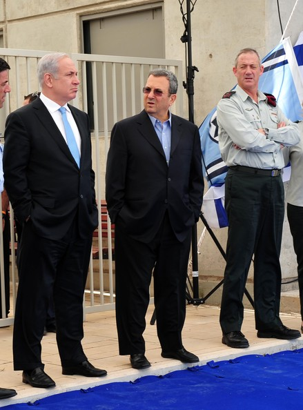 ehud barak benjamin netanyahu photos freed israeli