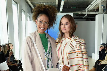 Elaine Welteroth Tory Burch Fall Winter 2019 Fashion Show - Front Row