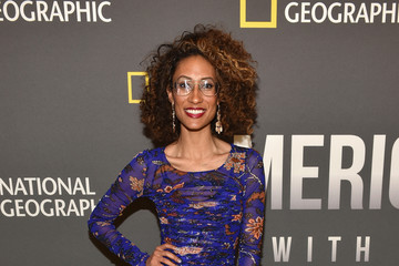 Elaine Welteroth National Geographic's 'America Inside Out With Katie Couric' Premiere Screening In NYC