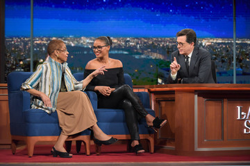 "Eleanor Holmes Norton CBS's ""The Late Show with Stephen Colbert"" - Season Two"