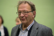 Green candidate Larry Sanders at the Windrush Leisure Centre on October 21, 2016 in Witney, England. The by-election in Witney, Oxfordshire was prompted by the resignation of former Prime Minister David Cameron, who stood down as an MP shortly after leaving Downing Street.