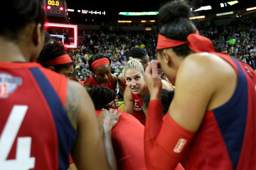 Elena Delle Donne WNBA Finals - Game One