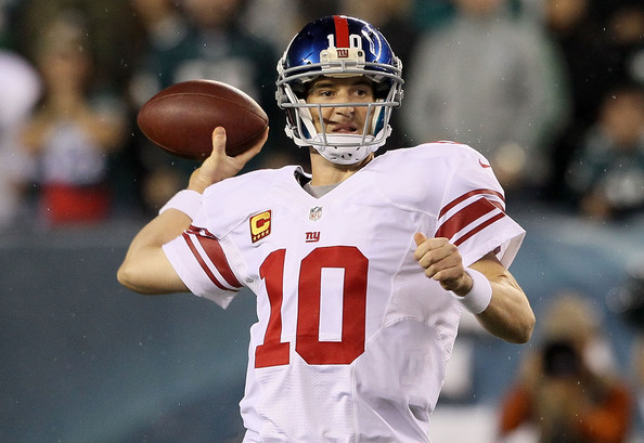Eli Manning, Giants vs Eagles