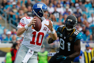 Eli Manning New York Giants v Jacksonville Jaguars