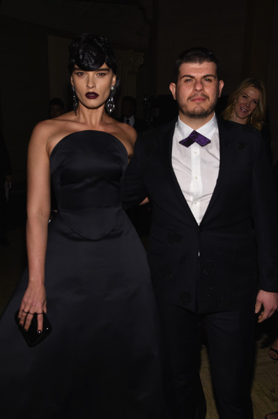 Foundation Fighting Blindness World Gala [suit,formal wear,dress,clothing,fashion,tuxedo,hairstyle,little black dress,event,haute couture,crystal renn,eli mizrahi,new york city,cipriani 42nd street,foundation fighting blindness world gala,l]