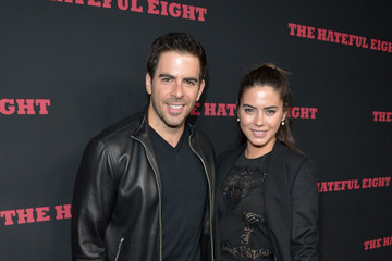 Eli Roth Lorenza Izzo The Weinstein Company Presents the World Premiere of 'The Hateful Eight' - Red Carpet