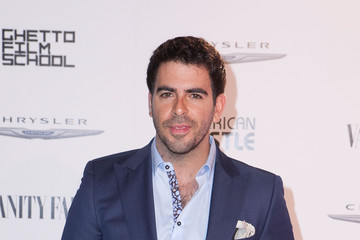"Eli Roth Vanity Fair Campaign Hollywood ""American Hustle"" Toast Sponsored By Chrysler - Arrivals"