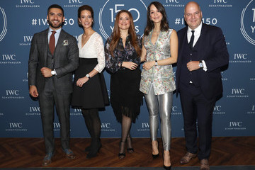 Elias El Indari IWC Schaffhausen at SIHH 2018 - Day 2