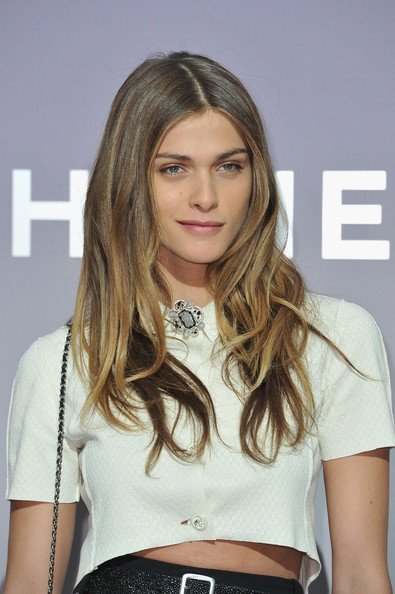Elisa Sednaoui Elisa Sednaoui attends the Chanel Ready-To-Wear Fall/Winter 2012 show as part of Paris Fashion Week at Grand Palais on March 6, 2012 in Paris, France.