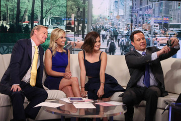 Elisabeth Hasselbeck Lucy Hale Visits 'FOX & Friends'