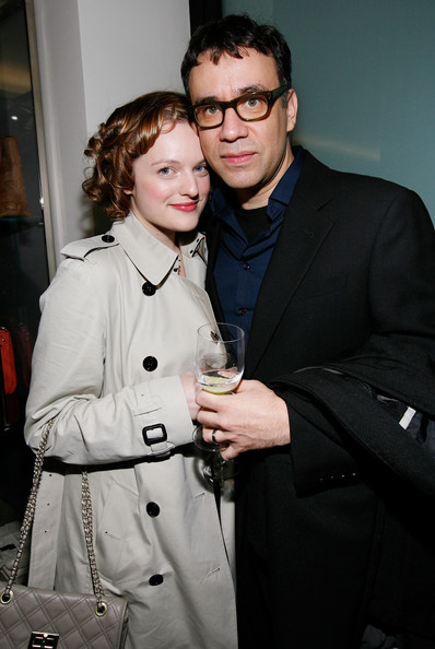 Fred Armisen and Elisabeth Moss - Barneys New York Unveils 2009  Holiday Window Celebrating 35 Years of SNL