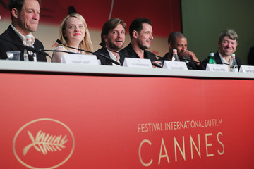 Elisabeth Moss Ruben Ostlund 'The Square' Press Conference - The 70th Annual Cannes Film Festival