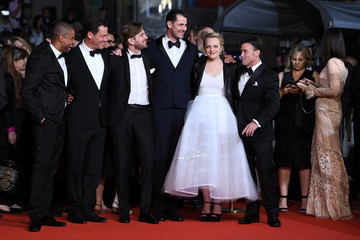 Elisabeth Moss Ruben Ostlund 'The Square' Red Carpet Arrivals - The 70th Annual Cannes Film Festival