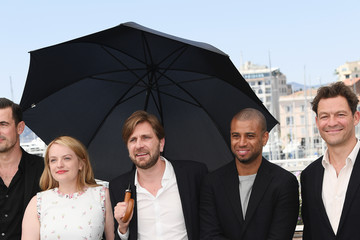 Elisabeth Moss Ruben Ostlund 'The Square' Photocall - The 70th Annual Cannes Film Festival
