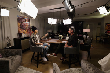 Elivs Duran Elvis Duran's Exclusive Interview With Justin Bieber For 'Entertainment Tonight'