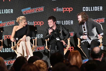 Eliza Coupe Hulu's 'Future Man' Panel at New York Comic Con