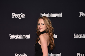 Elizabeth Gillies Entertainment Weekly and PEOPLE Upfronts Party at Second Floor in NYC Presented By Netflix and Terra Chips - Arrivals
