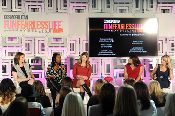 Elizabeth Gore Cosmopolitan Fun Fearless Life 2015 Presented By Maybelline New York In Partnership With #ActuallySheCan