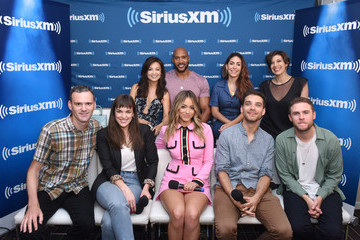 Elizabeth Henstridge SiriusXM's Entertainment Weekly Radio Broadcasts Live From Comic Con in San Diego