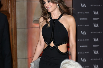 Elizabeth Hurley Arrivals at the Glamour of Italian Fashion