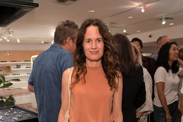 Elizabeth Reaser Outerknown Celebrates The Launch of S.E.A. JEANS At Ron Herman