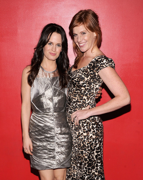 Elizabeth Reaser and Kate Nowlin attend the