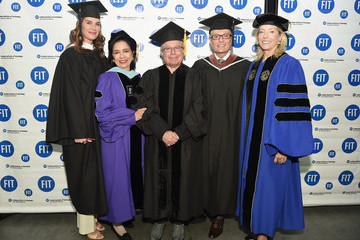 Elizabeth T. Peek Brooke Shields, Randy Fenoli And Daniel Libeskind Honored at FIT Commencement