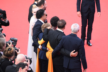Elle Fanning Alejandro Gonzalez Closing Ceremony Red Carpet - The 72nd Annual Cannes Film Festival