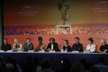 Elle Fanning Robin Campillo Jury Press Conference -  The 72nd Annual Cannes Film Festival