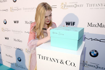 Elle Fanning Tiffany & Co At Women In Film Pre-Oscar Cocktail Party
