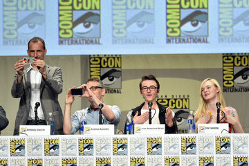 "Elle Fanning ""The Boxtrolls"" Panel - Comic-Con International 2014"
