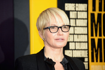 Ellen Barkin 'Monuments Men' Premieres in NYC