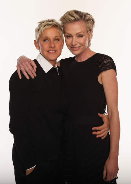 ... and Portia de Rossi - 39th Annual People's Choice Awards - Portraits