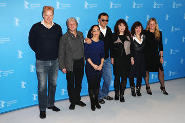 Ellen Kuras Athina Rachel Tsangari International Jury Photocall - 63rd Berlinale International Film Festival