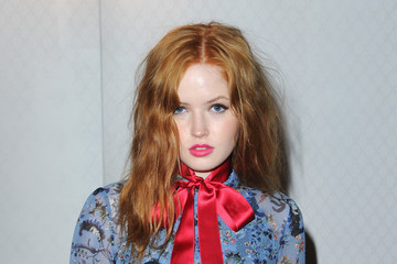 Ellie Bamber Front Row & Arrivals: Day 4 - LFW February 2017