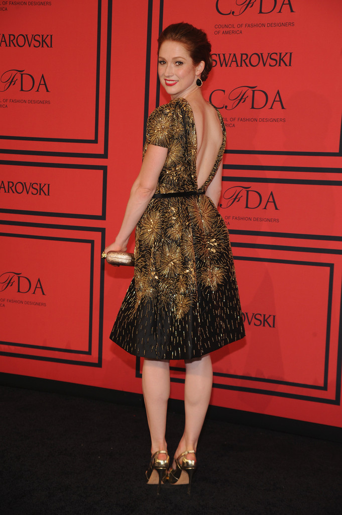 Ellie Kemper  - Arrivals at the CFDA Fashion Awards
