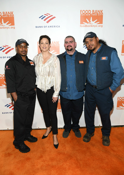 Food Bank For New York City Can-Do Awards Dinner - Arrivals [event,premiere,flooring,red carpet,suit,food bank for new york city,dinner,l-r,cipriani wall street,new york city,arrivals,waldo marrero,johnny rivera,maurice young,ellie krieger]