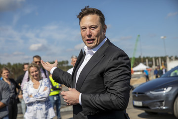 Elon Musk European Best Pictures Of The Day - September 03