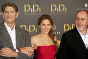 "(L to R) Actor Peter Coyote, Spanish actress Elsa Pataky and Spanish director Bigas Luna attend ""Didi Hollywood"" press conference at Intercontinental Hotel on October 14, 2010 in Madrid, Spain."