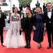 """Elsa Zylberstein """"Les Intranquilles (The Restless)"""" Red Carpet - The 74th Annual Cannes Film Festival"""