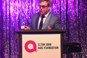 Elton John Inside the Elton John AIDS Foundation Oscars Viewing Party — Part 2