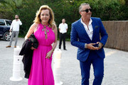 "President of Chopard Caroline Scheufele attends the first ""Midsummer Party"" hosted by Elton John and David Furnish to raise funds for the Elton John Aids Foundation at the Villa Dorane on July 24, 2019 in Antibes, France."