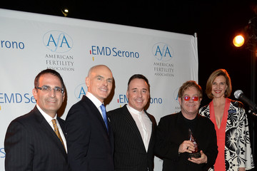 Elton John Elton John, David Furnish, The New Normal Honored At American Fertility Association's Illuminations LA 2013