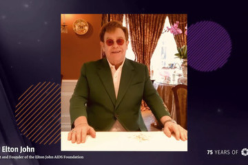 Elton John An Evening with CARE, Celebrating the 75th Anniversary of the CARE Package