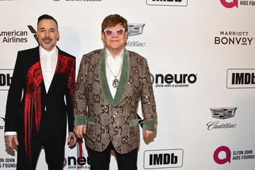 Elton John Marriott Bonvoy Moments At The 27th Annual Elton John AIDS Foundation Academy Awards Viewing Party Celebrating EJAF And The 91st Academy Awards - Arrivals