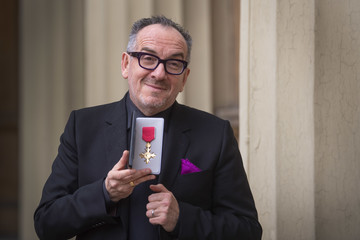 Elvis Costello Investitures At Buckingham Palace 2020